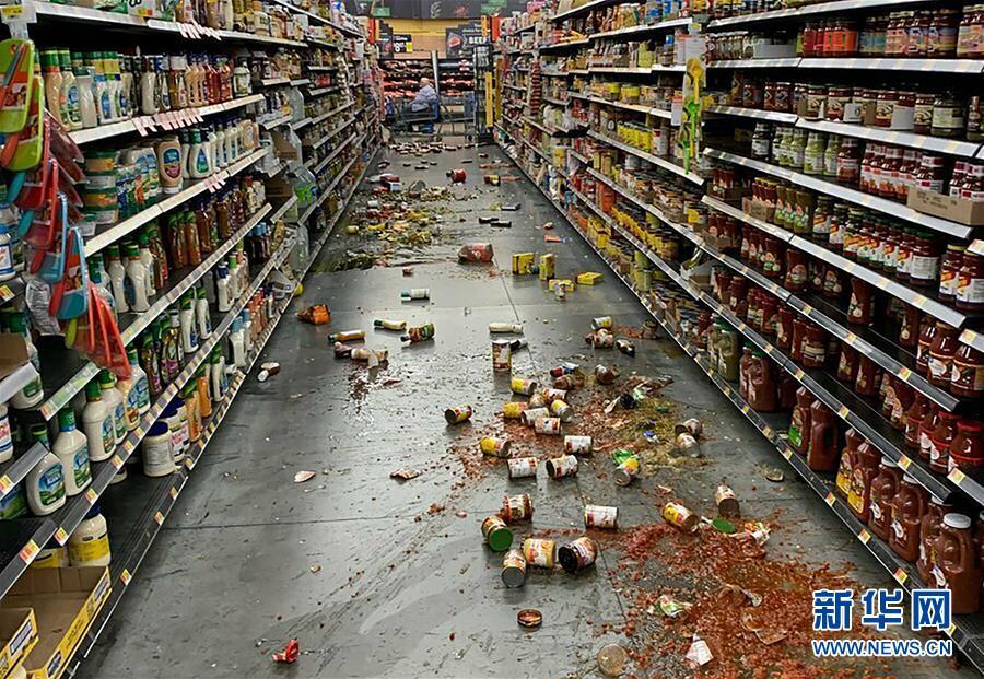 (国际)美国加利福尼亚州南部发生7.1级地震